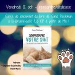 Soirée de lancement du livre «Comprendre votre chat» de Sonia Paeleman au Cent-Huit